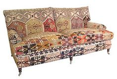 I thought I wanted a fainting couch, but I'm pretty sure I want this instead.
