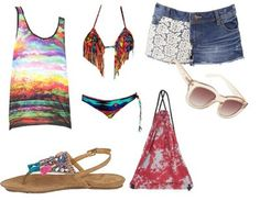 Casual outfit BEACH !!