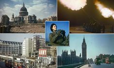 The Blitz brought to life: Incredible new color pictures show the devastation and defiance of London - Anglotopia.net