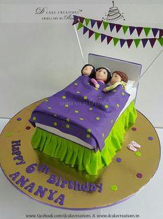 Birthday Cake for Slumber Party