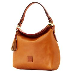 Dooney &  Bourke Twist Strap Hobo, Natural