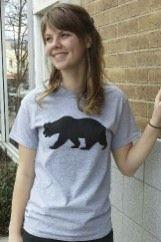 Women's T-shirt red - Short sleeve - spring style fashion @ Black Bear Trading Asheville N.C.