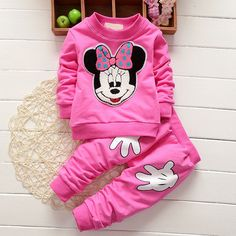2017 Newborn Baby Girls Clothes Set Cartoon Long Sleeved Tops + Pants 2PCS Outfits Kids Bebes Clothing Childrens Jogging Suits US $4.79 / piece  -20%  4 days left