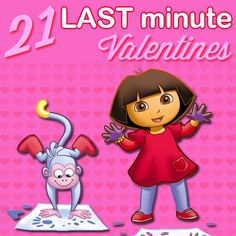 It's not too late to print adorable Nick Jr. valentines for your children to share with friends.