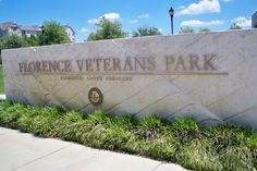 The City of Florence built the Florence Veterans Park right next to the Civic Center to honor all military veterans. It is a beautiful park. (Florence, SC) http://www.scbeachtrips.com/south-carolina-blog.php