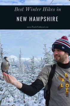 Best winter hikes in New Hampshire New Hampshire, New England Travel, Winter Hiking, Adventure Activities, Best Hikes, Winter Activities, Hiking Trails, Outdoor Travel, The Great Outdoors