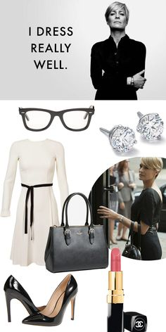 Gloss Boudoir: GET THE LOOK: CLAIRE UNDERWOOD