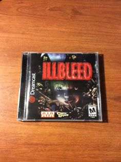 Illbleed US in very good condition no mark on the disc. Only 17 hours left. Creepy Games, Sega Dreamcast, Auction