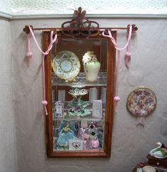 Lady's Bedroom Display Cabinet