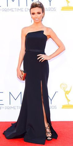 Giuliana Rancic, Emmys' Arrivals Gallery - Emmy Awards 2012 : People.com (CREDITS: Kevork Djansezian/Getty)