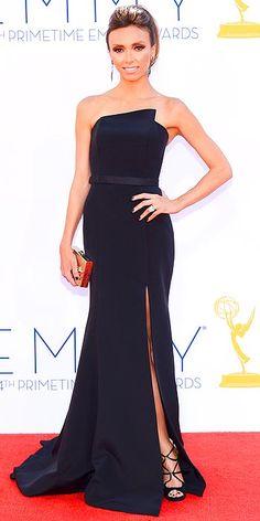 Giuliana Rancic at the Emmy Awards 2012
