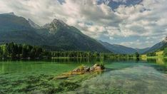 A Beautiful Lake in Ramsau Hintersee Alpine. Landscape Wallpaper, Nature Wallpaper, Christophe André, Lake Bell, Biomes, Relaxing Music, Amazing Nature, Land Scape, Landscape Photography