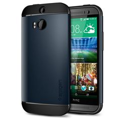 Spigen® [AIR CUSHION] HTC One M8 Case Protective [Slim Armor] [Metal Slate] Air Cushioned Dual Layer Protective Case for The All New HTC One / HTC One M8 / HTC One 2 / HTC One 2014 (2014) - Metal Slate (SGP10812) Spigen,http://smile.amazon.com/dp/B00IF5B2R2/ref=cm_sw_r_pi_dp_e0KHtb1G5QW0BAWE $19.99 prime