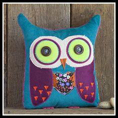 Natural Life Owl Boho Pillow [FRPLW001] - $15.95 : Gigi's Gifts and Calligraphy
