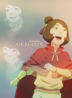 Jinora is one of my favorites from The Legend of Korra.