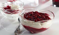 Weiße Schokoladen-Joghurtcreme Rezept | Dr. Oetker