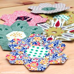 #diy english paper piecing