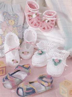 Baby Booties Crochet Patterns 12 Adorable Designs