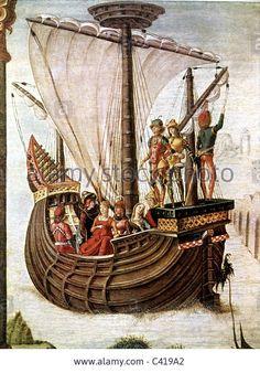 "Transport / Transportation, Navigation, Cog, Painting ""the Argonauts Stock Photo, Royalty Free Image: 36908650 - Alamy"