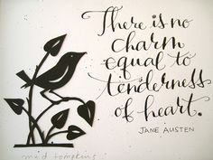 Close up of Jane Austen quote | Flickr - Photo Sharing!