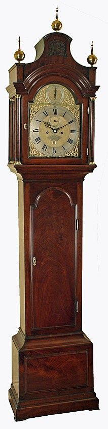 London Longcase Clock by Edward Taylor with Rare Alarm Feature