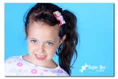 Family Ever After....: {Sewlebrity Crush} Ruffled Hair Clips from Sugar Bee Crafts
