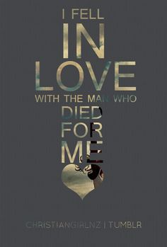 I want to fall in love with Jesus every single day!! <3