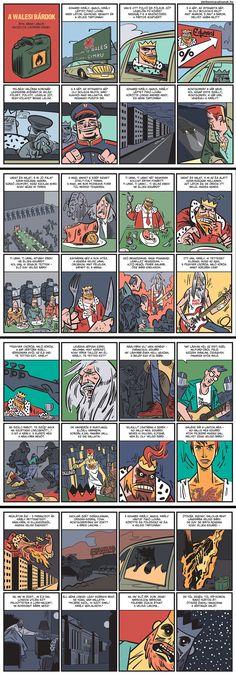 Arany János: A walesi bárdok KÉPREGÉNY