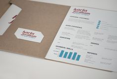 Design portfolio by Karla Fordham, via Behance