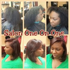Natural hair colored by Venessa 757-289-9921
