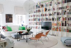Que sala incrível! // Denise bokhylla