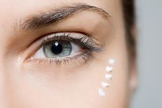 The bad news: Crinkled, crepey skin can start to appear around the eyes as early as your 20s. The good news: Extra-rich creams with glycerin squalene, or panthenol—some of the most potent hydrators—can help plump up skin and disguise fine lines. Two other star players are hyaluronic acid and dimethicone (both found in Lancôme Absolue Yeux Global Multi-Restorative Eye Concentrate). One draws water into skin cells while the other seals in moisture by creating an oil barrier.