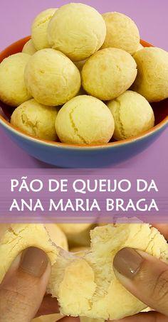 Receita de Pão de queijo da Ana Maria Braga. A receita famosa também é excelente para vender  #receita #receitacaseira #façavocemesma #comida