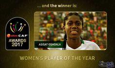 النيجيرية أسيسات أوشولا أفضل لاعبة في إفريقيا: النيجيرية أسيسات أوشولا أفضل لاعبة في إفريقيا