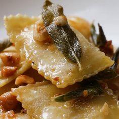 Easy Butternut Squash Ravioli Recipe by Tasty