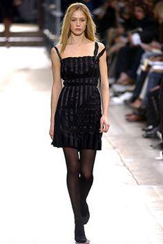 Lanvin Fall 2003 Ready-to-Wear Fashion Show - Alber Elbaz, Raquel Zimmermann