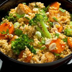 Spicy Thai Coconut Quinoa -Punchfork — The best Vegetarian recipes from top food sites
