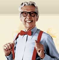 Orville Redenbacher~The Popcorn Festival in Valparaiso Indiana~every year of my Childhood the second Saturday in September we celebrated with Orville! :)