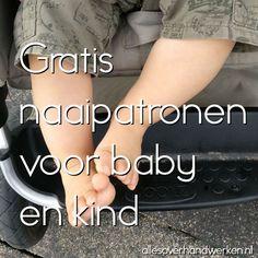 Gratis naaipatronen voor baby en kind. Heel veel gratis naaipatronen voor je eigen baby of als kraamcadeau!