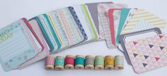 Project Life  5th & Frolic  Card Pack plus Washi by StickerStop, $19.00