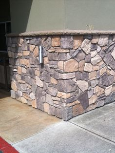 Upgrade your décor with Mountain View Stone field stone siding. Easy installation, budget friendly and perfect for DIY or professionals. Our stone veneer is American made and is thin compared to real stone siding for easier, lighter handling. Suitable for interior applications such as stone accent walls, fireplaces kitchens or bathrooms as well as exterior applications such as home siding, sheds, columns, garages or outdoor BBQs. Buy direct and get the best siding prices! #stonesiding Craftsman Home Decor, Craftsman Exterior, Interior And Exterior, Craftsman Homes, Fake Stone, Brick And Stone, Stone Masonry, Stone Veneer Siding