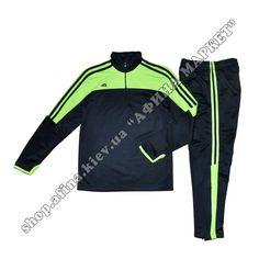 Футбольный костюм тренировочный B0202-Green   Спортивные костюмы тренировочные для детей