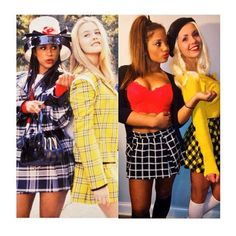 90s Movies Clueless Halloween Costumes DIY  sc 1 st  Pinterest & Clueless girls - Dionne cher and Ty !! Fave costume! | Costumes ...