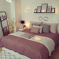 home decor bedroom Elegant Home Decor, Elegant Homes, Room Ideas Bedroom, Home Decor Bedroom, Dream Rooms, Dream Bedroom, Rose Gold Room Decor, Beautiful Bedrooms, New Room