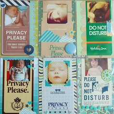 Do Not Disturb Project Life Layout