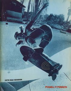 Stacy Peralta 1976 R and D session - Powell and Peralta