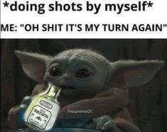 Yoda Meme, Yoda Funny, Funny Pick, Funny Adult Memes, Funny Picture Quotes, Funny Photos, Funny Laugh, Hilarious, Health