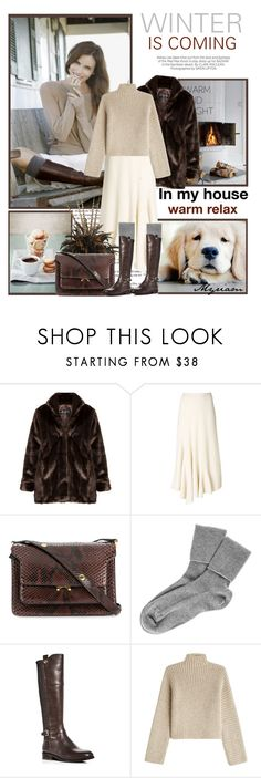 """WINTER IS COMING"" by lovemeforthelife-myriam ❤ liked on Polyvore featuring Kershaw, Ports 1961, Marni, Black, Cole Haan and Rosetta Getty"