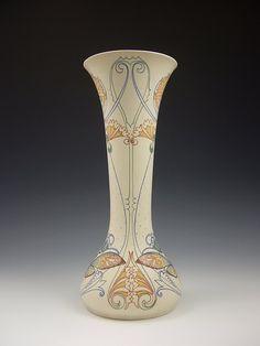 "cair–paravel: ""Earthenware vase, Arnhemsche Fayence, Jacob Vet, c. 1910. """