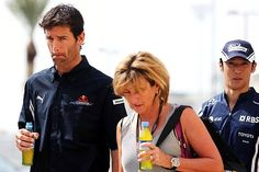 All about Mark Webber and his girlfriend.
